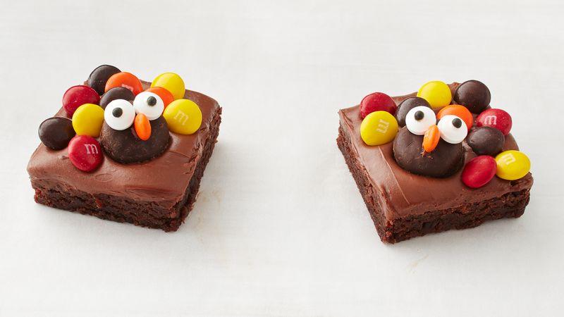 Easy Turkey Brownies recipe from Betty Crocker