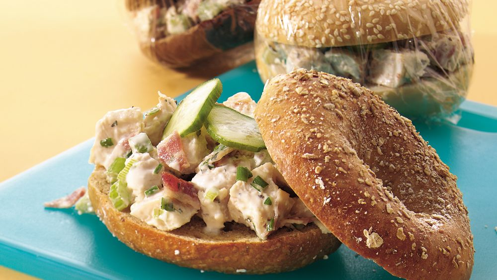 Bagel Shop Chicken Salad Sandwiches
