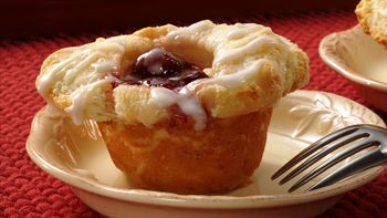 Cherry Danish Biscuit Cups