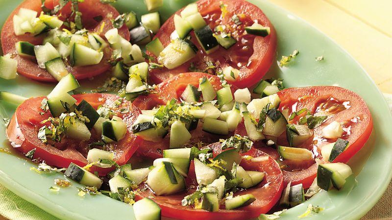 Fresh Tomato and Cucumber Salad