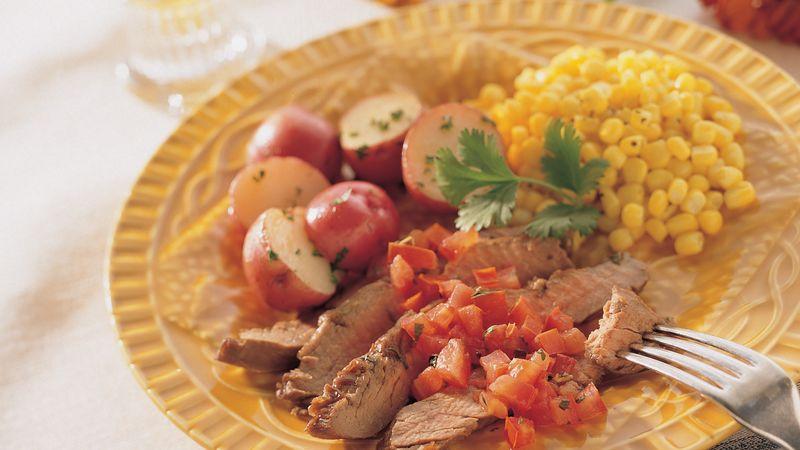 Southwest Herb Flank Steak