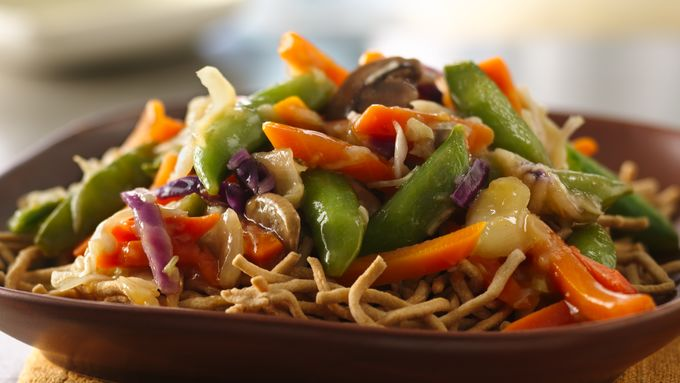 Easy Vegetable Chow Mein