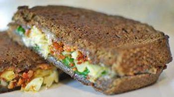 Chorizo Spinach Artichoke Grilled Cheese