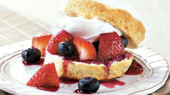 Lemon-Berry Shortcakes