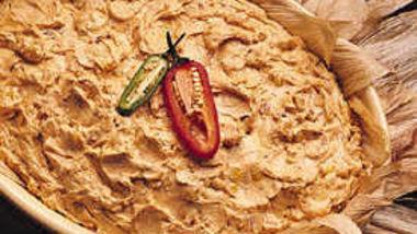 Corn and Walnut Dip
