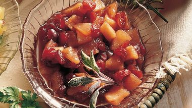 Pear-Cranberry Chutney