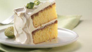 Key Lime Cream Cake