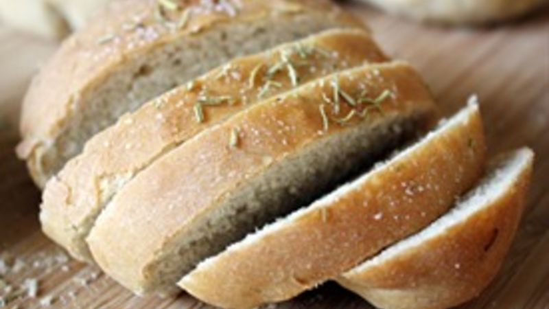 Rosemary Peasant Loaves recipe - from Tablespoon!