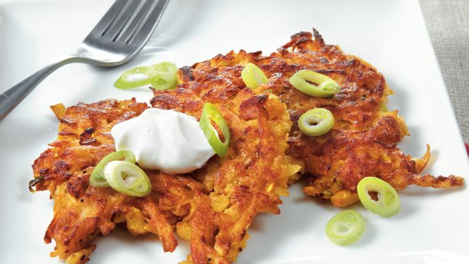 Sweet Potato Parsnip Latkes