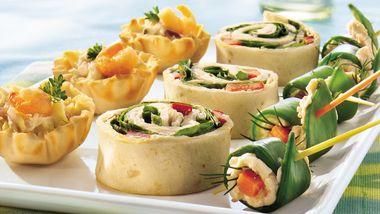 Seafood Salad Tartlets