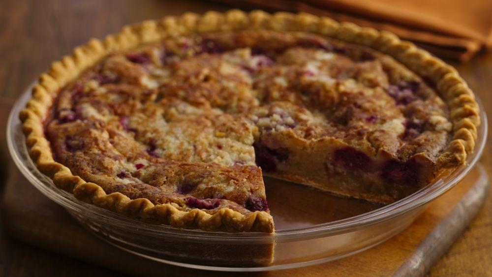 Fresh Berry Custard Pie