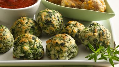 Spinach-Cheese Balls
