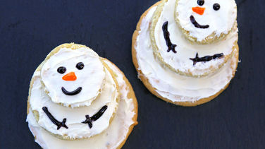Muñecos de Nieve con Galletas Betty Crocker™