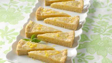 Glazed Lemon Wedges