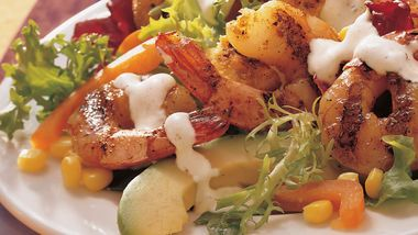 Barbecued Shrimp Salad