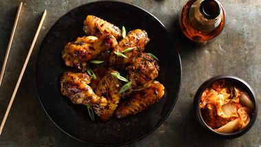 Grilled Spicy Thai Chicken Wings