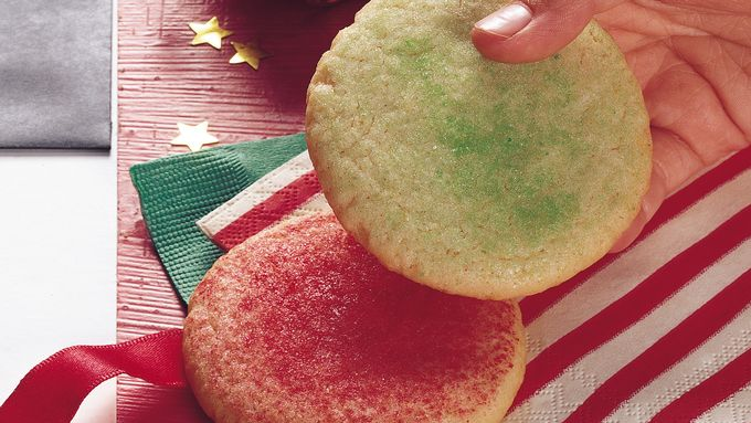 Stir and Drop Sugar Cookies