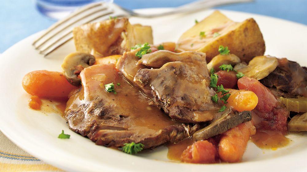 Slow-Cooker Family-Favorite Pot Roast