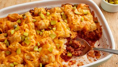 Sloppy Joe Tater Tots™ Casserole