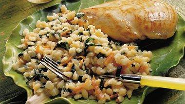 Spinach Orzo