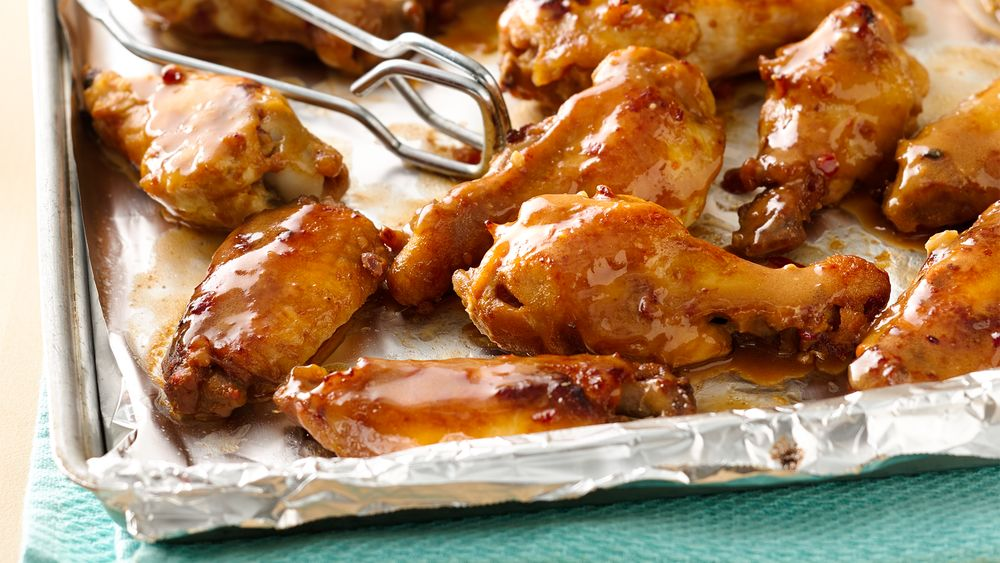 Slow-Cooker Thai Peanut Chicken Wings