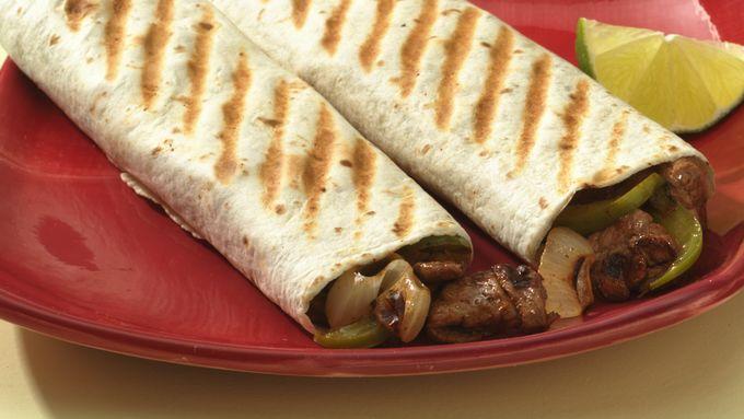 Grilled Beef Fajitas