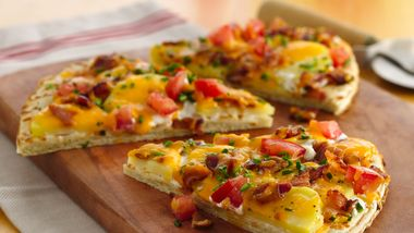 Loaded Baked Potato Pizza