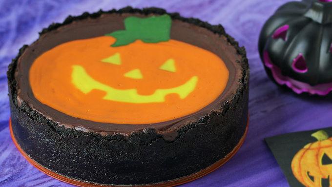 Painted Pumpkin Cheesecake
