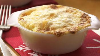 Skinny Cheesy Mashed Potatoes