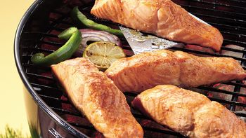Grilled Chili-Lime Salmon