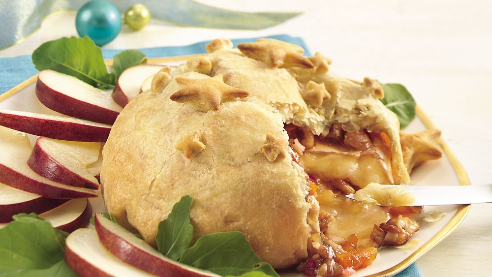 Apricot Baked Brie