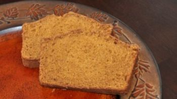 Delicious Dark Pumpkin Bread