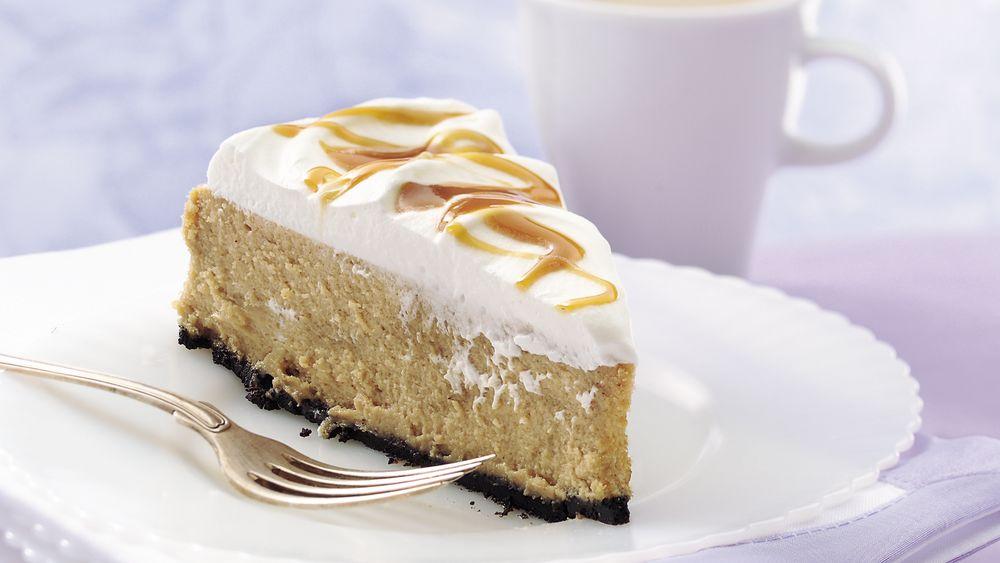 Caramel Cappuccino Cheesecake
