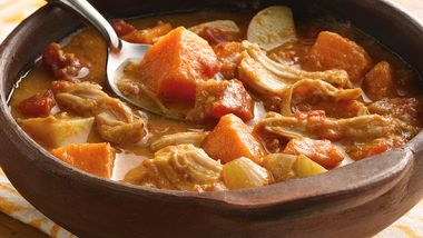 Slow-Cooker African Groundnut Stew with Chicken