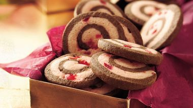 Chocolate-Cherry Pinwheels