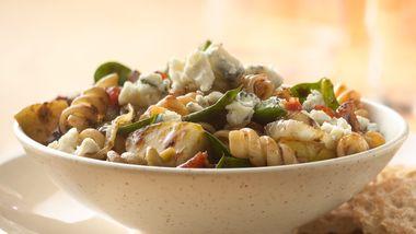 Hot Bacon and Pasta Salad