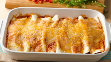 5-Ingredient Beef Enchilada Casserole