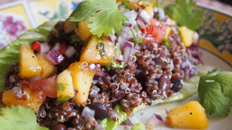 Bolivian Quinoa and Bean Salad