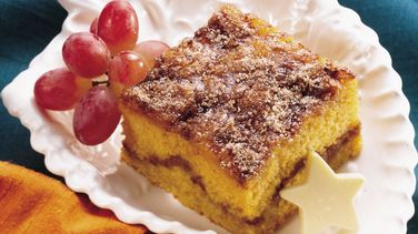 Pumpkin-Maple Coffee Cake