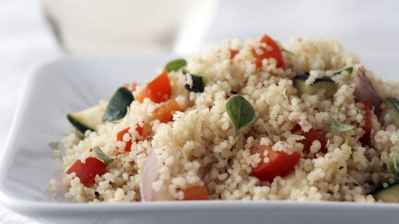 Mezcla de cuscús con verduras Healthified