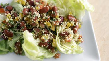 Skinny Hearty Grain and Veggie Salad
