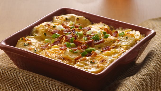 Bacon-Topped Loaded Potatoes