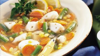 Fish and Vegetable Soup