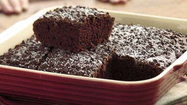Double-Chocolate Snack Cake