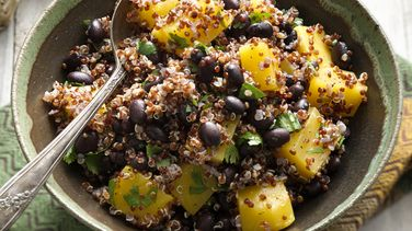 Mango, Black Bean and Quinoa Salad