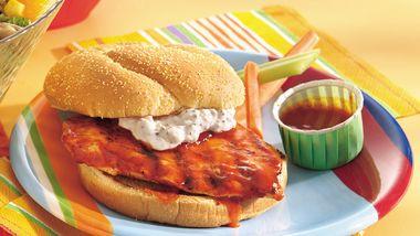 Grilled Buffalo Chicken Sandwiches
