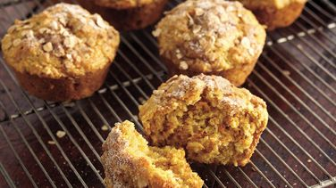 Sweet Potato-Oatmeal Muffins