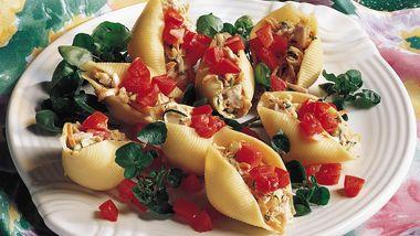 Tuna-Stuffed Shells