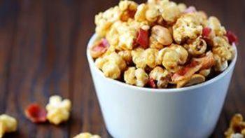 Bacon Cashew Caramel Corn