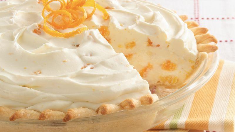 Orange Mousse Pie